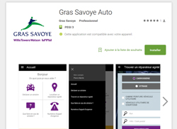 Experiences - Gras Savoye - Application auto